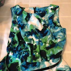 Dress Barn fit and flare dress. Size 8.